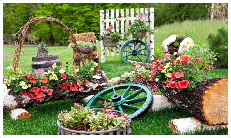 Yaşam Yolu  Ve Çiçekler